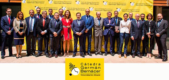 Acto de presentación de la Cátedra Germán Bernácer