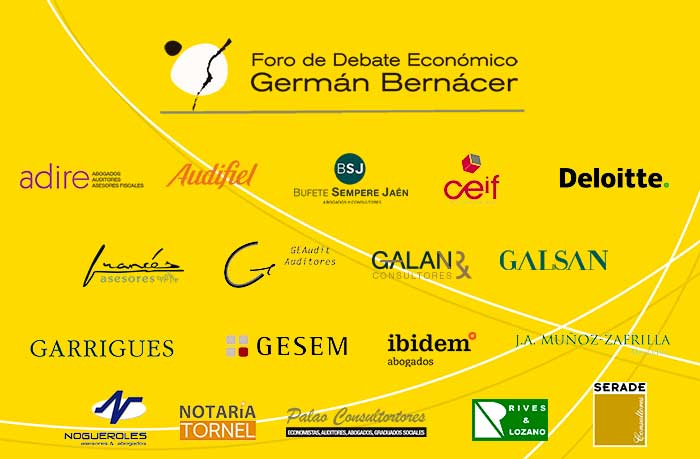 Panel de socios del Foro Germán Bernácer 2020