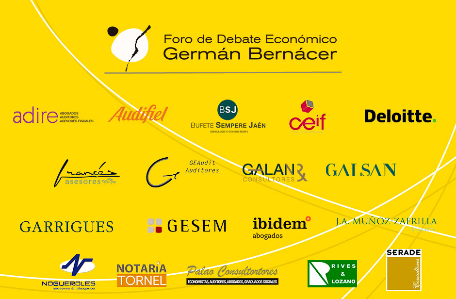 Foro Germán Bernácer, logos de los socios 2020