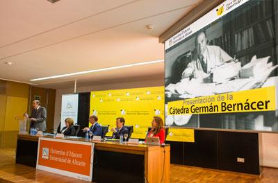 foro Acto de presentación de la Cátedra Germán Bernácer