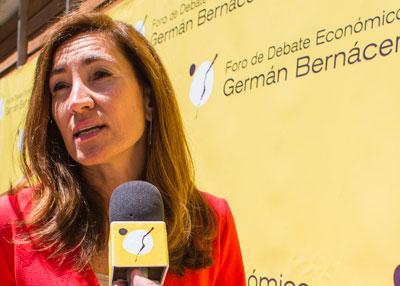 Enar Ruiz Conde, directora de ña Cátedra Germán Bernácer