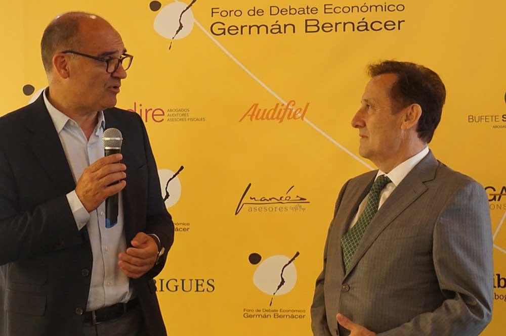 Pedro Algarra en el homenaje a Manuel Palomar