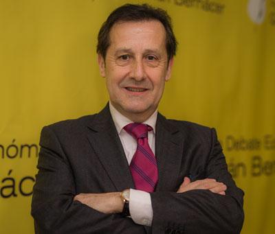 Pedro Algarra, presidente del Foro Germán Bernácer