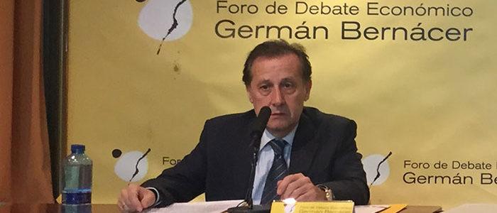 Pedro Algarra, presidente del Foro German Bernacer
