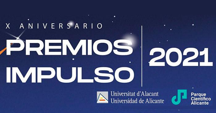Cartel de los Premios IMPULSO 2021