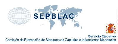 Emblema gráfico del SEPBLAC