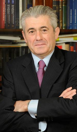 Valentin Pich Rosell Presidente del Consejo General de Colegios de Economistas